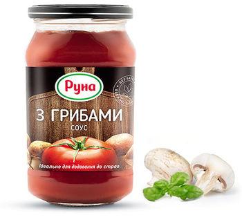 """купить """"RUNA"""" Соус с грибами   485гр. в Кишинёве"""