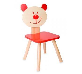 купить Деревянный стульчик Classic World 4802 красный в Кишинёве