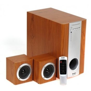 SVEN MS-1060R, коричневый