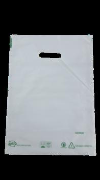 Пакеты с вырубной ручкой 27*37cм