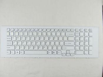 Keyboard Sony VPCEJ w/frame ENG. White