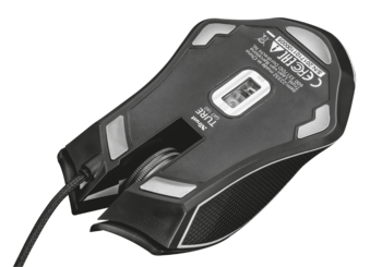 Mouse Trust GXT 160 Ture RGB Gaming, Black