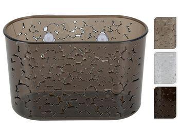 """Корзинка для ванной комнаты овальная """"Капли"""" 19X12cm"""