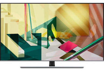 "55"" TV Samsung QE55Q77TAUXUA, Silver (SMART TV)"