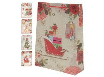 """Пакет подарочный """"Christmas Motive"""" 16X11.5X6cm"""