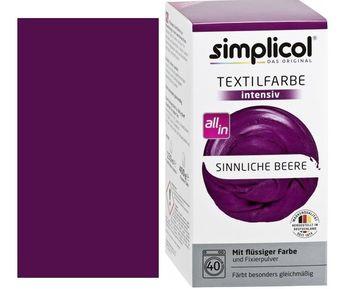 SIMPLICOL Intensiv - Sinnliche Beere, Краска для окрашивания одежды в стиральной машине, Sinnliche Beere