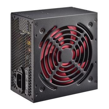 "PSU XILENCE XP600R7, 600W, ""RedWing R7"" Series, ATX 2.3.1, Passive PFC, 120mm fan,+12V (38A), 20+4 Pin, 6x SATA, 1xPCI-E 6+2pin, 2x Peripheral, Black"