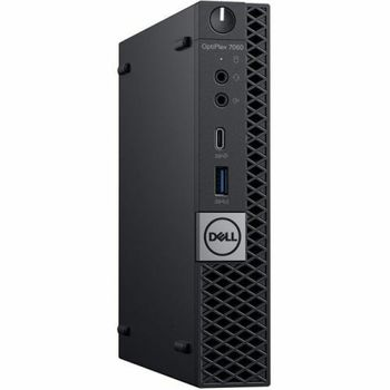 cumpără DELL Optiplex 7060 MFF Intel® Core® i7-8700Т (6 Cores/12MB/12T/up to 4.0GHz/35W), 8GB 1X8GB DDR4, M.2 256GB SSD, Intel UHD 630, WiFi 802.11ac + BT, TPM, no ODD, 90W AC Adapter, USB mouse, USB KB216-B, Ubuntu, Black în Chișinău