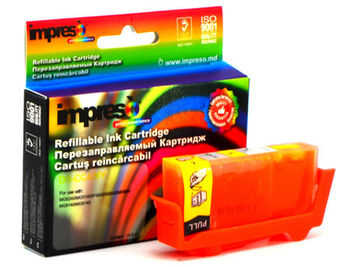 Impreso IMP-DS-CC426Y Yellow Refillable Canon iP4840/4940/ MG5140/5240/ 5340/6140/ 6240/8140/ 8240/MX714/ 884/894/ iX6540, w/chip (10ml) (cartus/картридж)