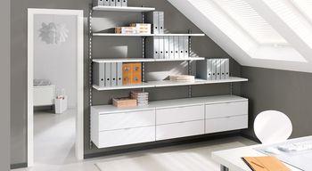 cumpără Dulap cu 2 sertare 800x400x450 mm, alb în Chișinău
