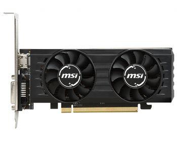 MSI Radeon RX 550  2GT LP OC /  2GB GDDR5 128Bit 1203/6000Mhz, DVI-D, HDMI, Dual Fans - Thermal Design, Military Class 4 (MIL-STD-810G), Gaming App, Low Profile, Retail
