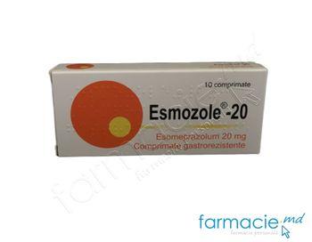 купить Esmozole® -20 comp. gastrorez. 20 mg  N10 в Кишинёве