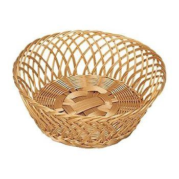 купить Корзинка плетеная круглая  пластик 28*11 см (17840) в Кишинёве