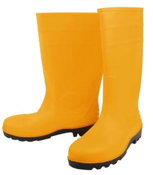 купить Сапоги резиновые со стальной защитой р.41 (жёлтый) Industrial TOLSEN в Кишинёве
