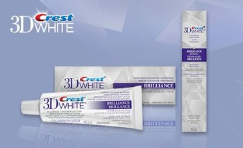 купить CREST 3D WHITE ВRILLIANCE - (TRAVEL SIZE - 24 гр) в Кишинёве