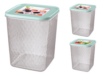 Контейнер хранение/заморозка Phibo Кристалл 2.3l, 14X14X17