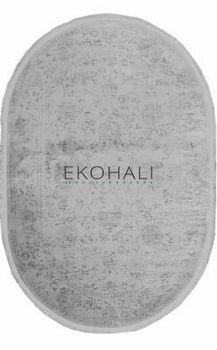 Ковёр ручной работы E-H Color line MG165 Grey(OVAL)(Фон серый,стертые цветы,овальный , vintage)