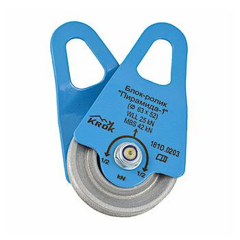 купить Блок-ролик BS-Krok Пирамида-1, сталь, 63/54 мм, krk 3201_022145.68/1 в Кишинёве