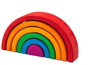 купить Marc Toys деревянная игрушка радуга в Кишинёве