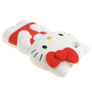 Чехол Hello Kitty красный для iPhone 4 / 4S