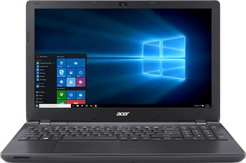 "ACER Extensa EX2519 Midnight Black (NX.EFAEU.041) 15.6"" HD (Intel® Celeron® Dual Core N3060 up to 2.48GHz (Braswell), 2Gb DDR3 RAM, 500Gb HDD, Intel® HD Graphics, w/o DVD, CardReader, WiFi-N/BT, 3cell, 0.3MP CrystalEye Webcam, RUS, Linux, 2.4kg)"