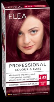 Краска для волос,SOLVEX Elea, 138 мл., 4.62 - Вишнево-красный