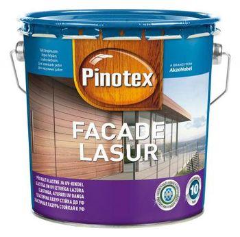 Pinotex Лак Pinotex Facade Lasur Красный 3л