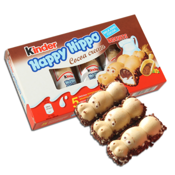 купить Kinder Happy Hippo Cacao, 5 шт. в Кишинёве