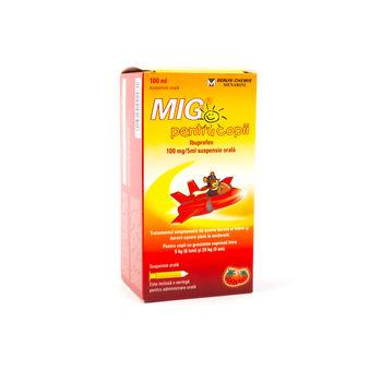 cumpără Mig p/u copii 20mg/ml 100ml susp. orala în Chișinău