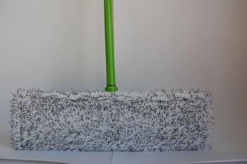 Швабра плоская с насадкой из микрофибры EK003 1345x135x60