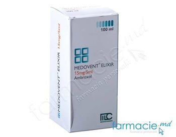 купить Medovent® elixir sol. orala 15 mg/5 ml 100 ml N1 в Кишинёве