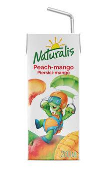 Naturalis напиток персик-манго 0,2 Л
