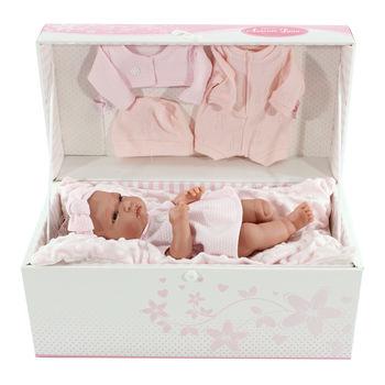 Кукла младенец Тонета в подарочной коробке, 33 см Код 6027