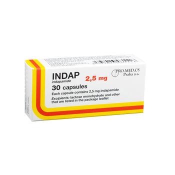 cumpără Indap 2.5mg caps. N10x3 în Chișinău