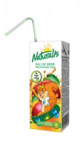 Naturalis сок яблочный 0,2 Л