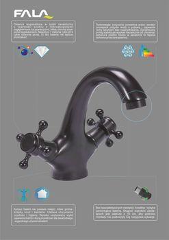 купить 75807 Смеситель для ванной RETRO BLACK 1 в Кишинёве