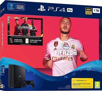 Consola SONY PlayStation 4 PRO 1TB + Fortnite Neo Versa Bundle + Fifa 20