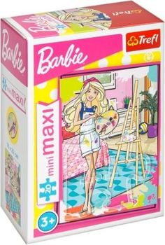 "Пазлы- ""20 miniMAXI"" -Mattel, Barbie - ""Master chef"", код 41674"