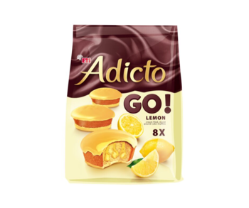 купить ETI Addict Go! Лимон Мини, 144 г в Кишинёве