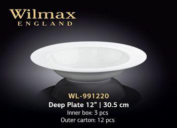 Тарелка WILMAX WL-991220 (глубокая 30,5 см)