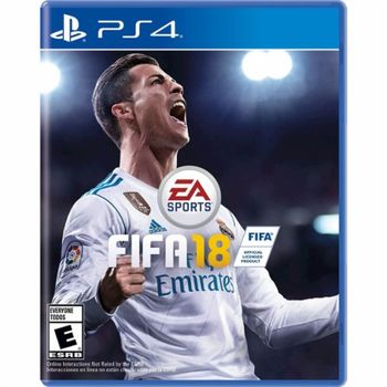 Gamedisc Fifa 18 for Playstation 4
