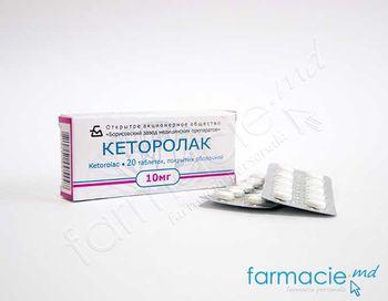 купить Ketorolac  comp. film.10 mg N10x2 в Кишинёве