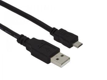 купить Cable USB2.0 micro Esperanza EB144, 1.5 m, USB 2.0 A-plug to Micro B-plug, Black в Кишинёве