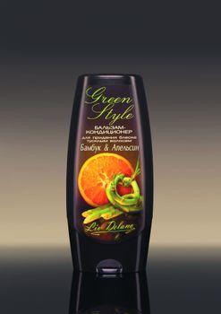 купить Бальзам-кондиционер «Бамбук&Апельсин» для придания блеска тусклым волосам Green Style в Кишинёве