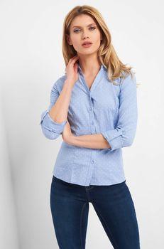 Блуза ORSAY Голубой в горошек 690142 orsay