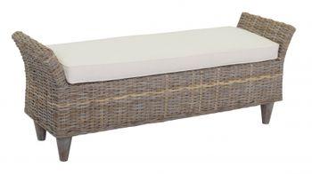 cumpără Scaun banca, din lemn, tapiţat, 1420x410x560 mm în Chișinău