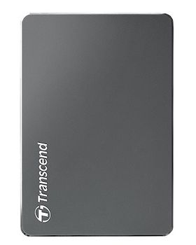 """2.5"""" External HDD 2.0TB (USB3.0)  Transcend StoreJet 25С3, Silver, Aluminum casing, Crafted with aluminum anodizing and CNC milling technology , Exclusive Transcend Elite, Software compatible with Mac OS X"""