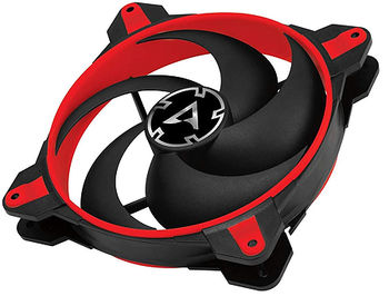 Case/CPU FAN Arctic BioniX P140 Red, eSport fan, PWM PST, 140x140x28 mm, 4-pin, 200-1950rpm, Noise 0.45 Sone, 77.6 CFM / 131.92 m3/h