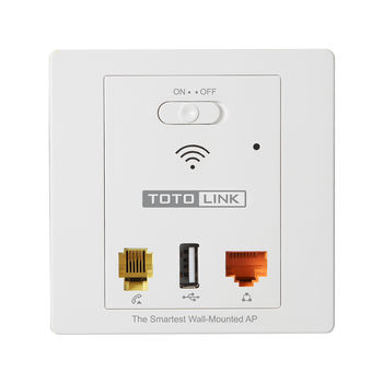 купить TOTOLINK WA300 (300Mbps In-Wall Wireless AP) в Кишинёве