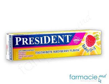 купить Зубная паста для детей President малина (0-3 лет), 30 мл в Кишинёве